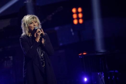 Kari Gjærum på scenen i programmet Stjernekamp på Nrk.